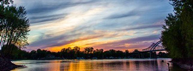 River in Wisconsin
